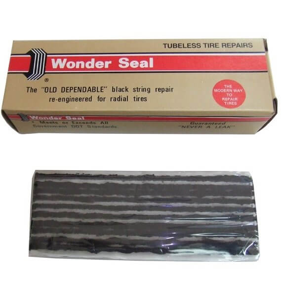 Wonder Seal κορδόνια Μαύρα TyresMoto