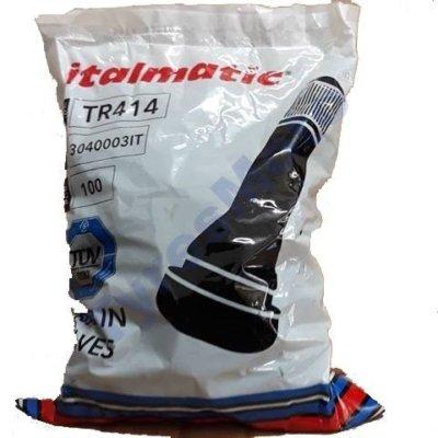 Βαλβίδα TR414 Italmatic 100 τεμ. TyresMoto