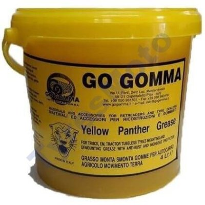 Yellow Pather Grease TyresMoto